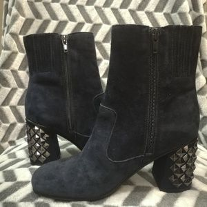 Guess Made-Up Suede Studded Booties